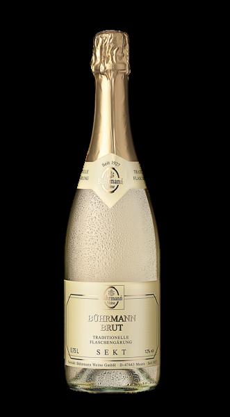 Bührmann Brut Traditionelle Flaschengärung 12 % 0,75 l
