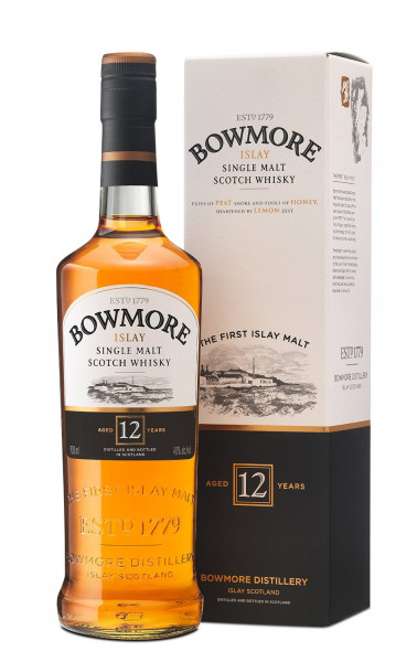 Bowmore 12 years Islay Single Malt Whisky 0,7l