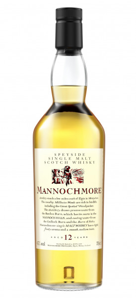 Mannochmore 12 years Flora & Fauna Collection Single Speyside Malt 43% 0,70l