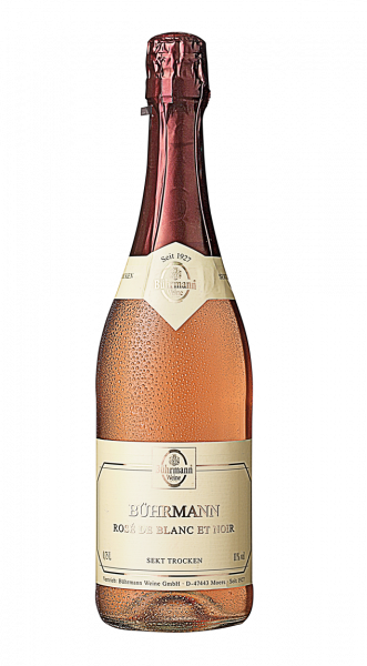 Bührmann Rosé de Blanc et Noir Sekt Trocken 11 % 0,75 l