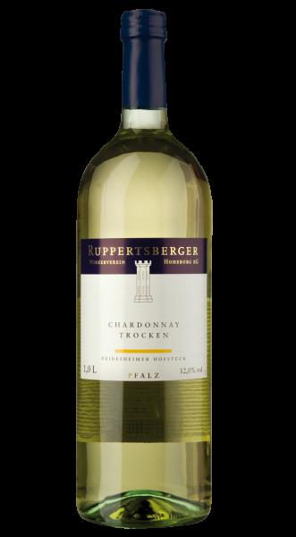 2018 Ruppertsberger Chardonnay Trocken 1,00 l!