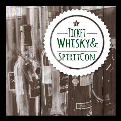 TICKET Whisky & SpiritCON 2019 am 09.02.2019 Whisky und Spirituosen- Messe