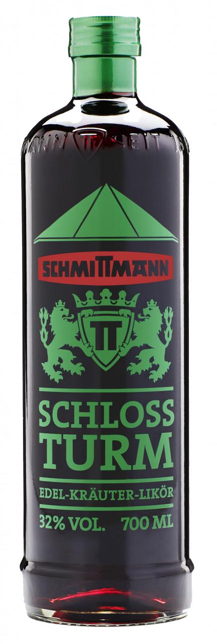 Schmittmann Schloßturm Edel-Kräuter-Bitter 32% 0,70l
