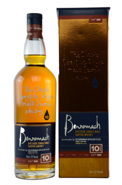 Benromach 10 Years 100 proof Speyside Single Malt Scotch Whisky 57% 0,70l