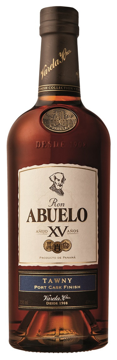 Ron Abuelo XV Anos Finish Collection Tawny 0,70 l