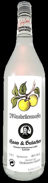 Haas & Bulacher Mirabellenwasser 40% 1,0l