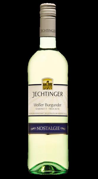 2017 Jechtinger Weißer Burgunder Kabinett Trocken Nostalgie!