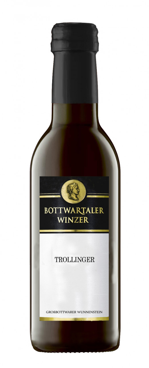 2015 Großbottwarer Wunnenstein Trollinger 0,25l!