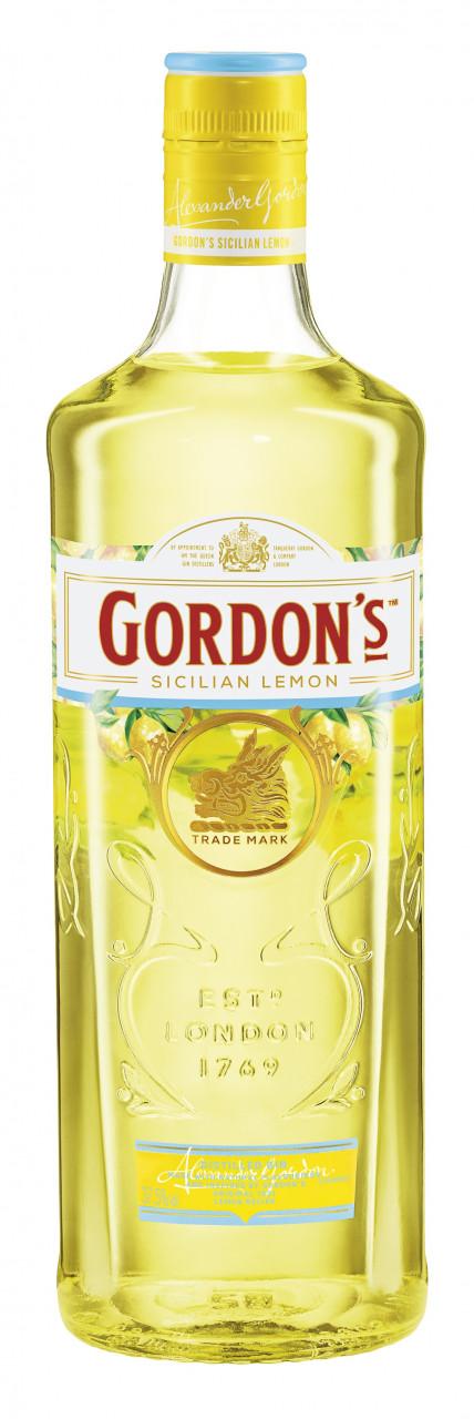 Gordon's Sicilian Lemon Gin 37,5% 0,7l