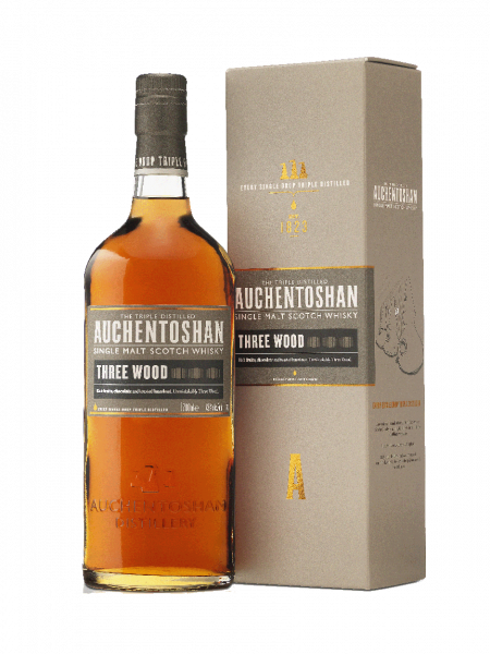 Auchentoshan Three Wood Lowland Single Malt Whisky 0,7l