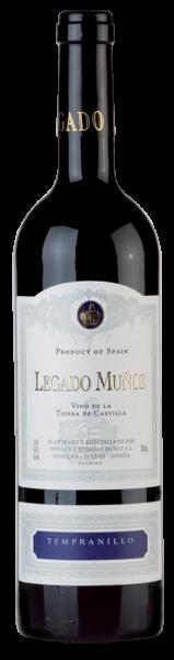 2018 Legado Muñoz Tempranillo Vino de la Tierra de Castilla!