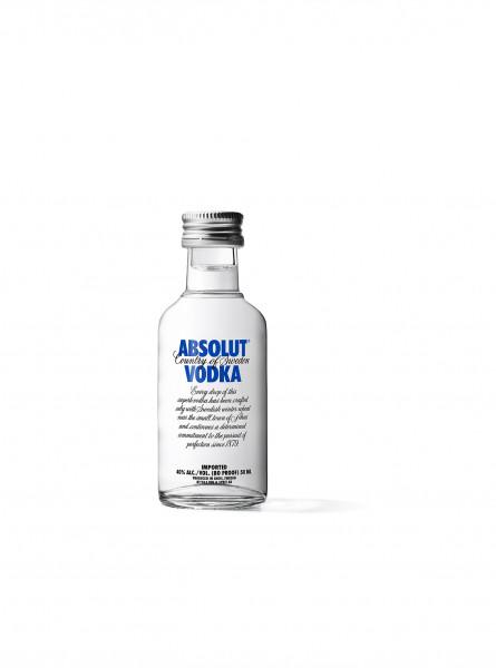 Absolut Vodka 40% 12 Fl. a 0,05l