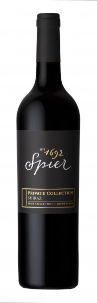 2015 Spier Private Collection Shiraz