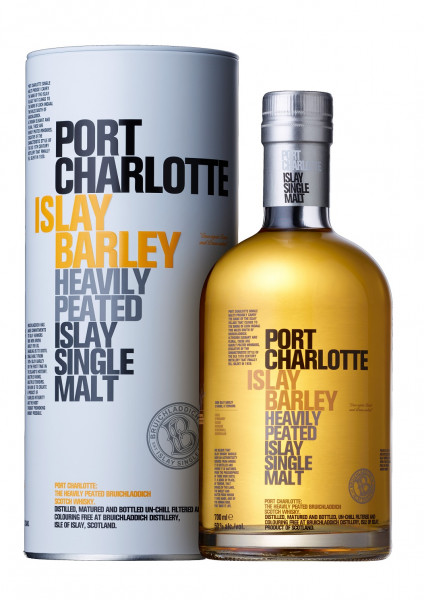 Bruichladdich Port Charlotte Islay Barley Heaviliy Peated Islay Single Malt Whisky 50% 0,7l!