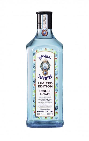 "Bombay Sapphire ltd. Edition ""English Estate"" London Dry Gin 41% 0,7l"