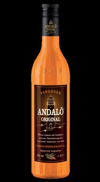 Andalö Original Sanddorn Likör 15% 0,7l!