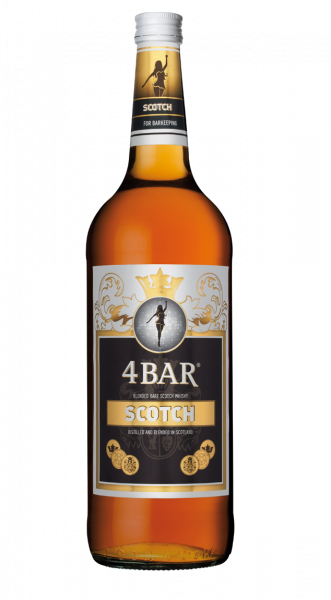 4 Bar Scotch 40% 1,0l !