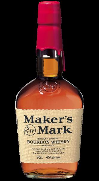 Maker's Mark Kentucky Straight Bourbon Whiskey 1,0l