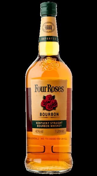 Four Roses Bourbon Whiskey  40% 1,0l